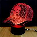 cheap Pendant Lights-LED Night Light / 3D Nightlight Color-changing / Change DC Powered / USB Color-Changing / Creative / Decoration 5 V 3D