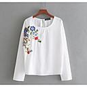 cheap Necklaces-Women's Basic Shirt - Floral, Print
