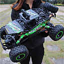 cheap RC Cars-RC Car Bigfoot Monster Truck Rock Crawlers 4WD 4 Channel 2.4G On-Road / Rock Climbing Car / Off Road Car 1:12 Brushless Electric 12 km/h KM/H Waterproof / Flashlight / Shockproof