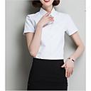 povoljno Anime perike-Majica Žene Dnevno / Rad Jednobojni Kragna košulje Slim