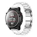 tanie Inteligentny zegarek Akcesoria-Watch Band na Fenix 5x Garmin Klasyczna klamra Stal nierdzewna Opaska na nadgarstek