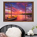 cheap Wall Tapestries-Wall Decal Decorative Wall Stickers - Plane Wall Stickers Landscape 3D Re-Positionable Removable