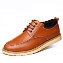 זול נעלי אוקספורד לגברים-בגדי ריקוד גברים Fashion Boots עור אביב / סתיו מגפיים הליכה מגפונים\מגף קרסול שחור / צהוב / חום