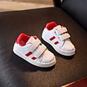 tanie Obuwie chłopięce-Dla chłopców / Dla dziewczynek Obuwie PU Wiosna Wygoda Adidasy na Złoty / Czarny / Czerwony