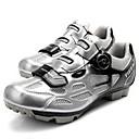 preiswerte Radtrikots-Tiebao® Mountainbikeschuhe Karbon Rutschfest, tragbar, Atmungsaktivität Radsport Silber / schwarz Herrn