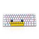 preiswerte Tastaturen-AJAZZ ak33  TDY Mit Kabel Bluetooth 3.0 RGB-Hintergrundbeleuchtung blau Schalter 82 Mechanische Tastatur Tragbar Bequem USB-Anschluss