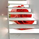 ieftine Acțibilde de Perete-Autocolante de Perete Decorative Etichete autocolante - 3D Acțibilduri de Perete #D Floral / Botanic Sufragerie Dormitor Baie Bucătărie