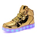 cheap Boys' Shoes-Boys' / Girls' Shoes PU(Polyurethane) Spring / Fall Light Soles / Light Up Shoes Sneakers LED for Gold / Silver / Pink / Party & Evening