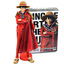 baratos Personagens de Anime-Figuras de Ação Anime Inspirado por One Piece Monkey D. Luffy PVC 25 cm CM modelo Brinquedos Boneca de Brinquedo