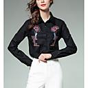 preiswerte Modische Armbänder-Damen Solide - Geschäftlich Arbeit Hemd, Hemdkragen Bestickt