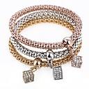 cheap Necklaces-Women's Charm Bracelet Strand Bracelet - Sweet Bracelet Rainbow For Party Gift / 3pcs