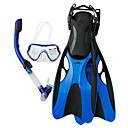 baratos Mascaras de Mergulho, Snorkels & Pés de Pato-SBART Kit para Snorkeling / Pacotes de Mergulho - Máscara de mergulho, Nadadeiras de Mergulho, Snorkel - Snorkel Seco, Pala Longa Natação, Mergulho Silicone  Para Adulto