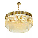 cheap Ceiling Lights-SKMEI Chic & Modern Pendant Light Ambient Light - Crystal Bulb Included Extended, 110-120V 220-240V Bulb Included