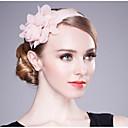 baratos Acessórios de Cabelo-Chifon Headbands com Penas / Floral 1 Peça Casamento / Aniversário Capacete