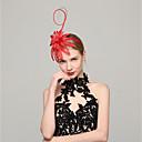 abordables Chapeau & coiffure-Tulle Casque avec Fleur 1pc Mariage / Occasion spéciale Casque
