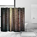 preiswerte Duschvorhänge-Duschvorhänge & Ringe Freizeit Landhaus Stil Polyester Solide Zeitgenössisch Maschinell gefertigt Wasserfest Bad