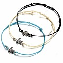 cheap Bracelets-Women's Charm Bracelet - Turtle Simple, Ethnic Bracelet White / Black / Blue For Daily Street