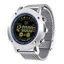 baratos Smartwatches-Relógio Multifunções Relógio inteligente JSBP-EX19 para Android iOS Bluetooth Calorias Queimadas Funciona com iOS e Sistema Android. Lembrete de Mensagem Aviso de Chamada Controle de APP Temporizador
