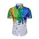 hesapli Üst Sanatçı-Erkek Pamuklu İnce - Gömlek Zıt Renkli Actif Temel