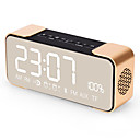 cheap Building Blocks-PTH305 Bluetooth Speaker Wireless Stereo Aluminum Portable FM Radio Altavoz Support Time clock Alarm Clock TF Card