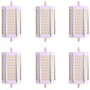 tanie Żarówki Punktowe LED-6 szt. 10 W 1000 lm R7S Świetlówki 72 Koraliki LED SMD 2835 Ciepła biel / Zimna biel 85-265 V