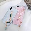 זול מגנים לטלפון & מגני מסך-מגן עבור Apple iPhone X / iPhone 7 Plus שקיפות כיסוי אחורי אחיד רך TPU ל iPhone X / iPhone 8 Plus / iPhone 8