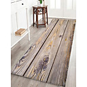 cheap Rugs-Doormats / Area Rugs Casual / Country Flannelette, Rectangle Superior Quality Rug / Non Skid