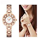 hesapli Kadın Saatleri-Kadın's Elbise Saat / Bilek Saati Çince Yeni Dizayn / Gündelik Saatler / imitasyon Pırlanta Alaşım Bant Moda / Zarif Gümüş / Altın Rengi / Gül Altın / Sony SR920SW / İki yıl