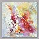 זול ציורים מופשטים-ציור שמן צבוע-Hang מצויר ביד - מופשט מודרני Others