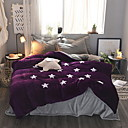 cheap Geometric Duvet Covers-Duvet Cover Sets Geometric Poly / Cotton Reactive Print 4 Piece