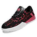 זול נעלי אוקספורד לגברים-בגדי ריקוד גברים טול / PU קיץ נוחות נעלי אתלטיקה ריצה קולור בלוק לבן / שחור / שחור אדום