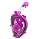 billige Dykkermasker, snorkler og finner-Dykning Masker / Snorkelmaske Anti-Tåge, Helmaske, Undervands Enkelt Vindue - Svømning, Dykning, Snorkling silica Gel - til Voksen / Børn