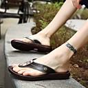 זול נעלי בית וכפכפים לגברים-בגדי ריקוד גברים נעלי נוחות EVA קיץ כפכפים & כפכפים שחור / חום