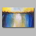 cheap Abstract Paintings-Oil Painting Hand Painted - Abstract Landscape Comtemporary Canvas