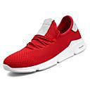 זול נעלי ספורט לגברים-בגדי ריקוד גברים טול / PU סתיו נוחות נעלי אתלטיקה ריצה לבן / שחור / אדום