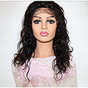 cheap Human Hair Wigs-Remy Human Hair Lace Front Wig Brazilian Hair Curly Wig Middle Part 130% Hair Density with Baby Hair Natural Natural Women's Mid Length Human Hair Lace Wig PERFE