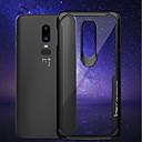 זול מגנים לטלפון & מגני מסך-מגן עבור OnePlus OnePlus 6 עמיד בזעזועים / שקוף כיסוי אחורי אחיד רך סיליקון ל OnePlus 6 / One Plus 5 / OnePlus 5T