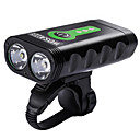 cheap Bike Lights & Reflectors-Front Bike Light / Headlight - Bike Light Cycling Waterproof, Portable, Adjustable Lithium Battery 2400 lm Cycling / Bike - WOSAWE