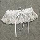 ieftine Jartiere de Nuntă-Șifon Satinat / Dantelă Stil Vintage Nunta Garter  -  Piatră Semiprețioasă / Șifonat Jartiere Nuntă / Party & Seară