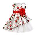 ieftine Rochii Fete-Copii Fete Floral Fără manșon Rochie