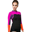 cheap Athletic Swimwear-SBART Women's Wetsuit Jacket 2mm Neoprene Top Thermal / Warm Long Sleeve Diving / Surfing / Snorkeling Patchwork