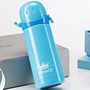 ieftine Lămpi de vid și termose-Drinkware silicagel / Oțel inoxidabil / PP+ABS Cupa vid Portabil / -Izolate termic / Reținerea de căldură 1pcs