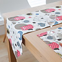 cheap Table Runners-Contemporary Square Table Cloth Geometric Table Decorations 1 pcs