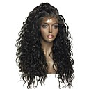 cheap One Pack Hair-Remy Human Hair Full Lace Wig Brazilian Hair Wavy Wig Layered Haircut 130% With Baby Hair / For Black Women Black Women's Short / Long / Mid Length Human Hair Lace Wig
