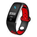 זול שעונים חכמים-חכמים שעונים STSQ6 ל Android 4.3 ומעלה / iOS 7 ומעלה מוניטור קצב לב / מודד לחץ דם / המתנה ארוכה / מסך מגע / עמיד במים מד צעדים / מזכיר שיחות / מד פעילות / תזכורת בישיבה / מצאו את המכשירשלי / 200-250