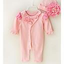 ieftine Set Îmbrăcăminte Bebeluși-Bebelus Unisex De Bază Mată Mânecă scurtă Salopetă