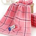 billige Vaskehåndklæ-Overlegen kvalitet Vaskehåndklæ, Rutet Polyester / Bomull / 100% bomull 1 pcs