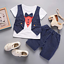 cheap Boys' Clothing Sets-Kids / Toddler Boys' Striped Short Sleeve Clothing Set