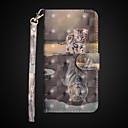 tanie Szkła powiększające-Kılıf Na Jabłko iPhone X / iPhone 8 Plus Portfel / Odporny na wstrząsy / Z podpórką Pełne etui Kot Twardość Skóra PU na iPhone X / iPhone 8 Plus / iPhone 8