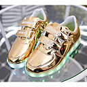 cheap Boys' Shoes-Boys' Shoes PU Spring & Summer Comfort / Light Up Shoes Sneakers for Gold / Silver